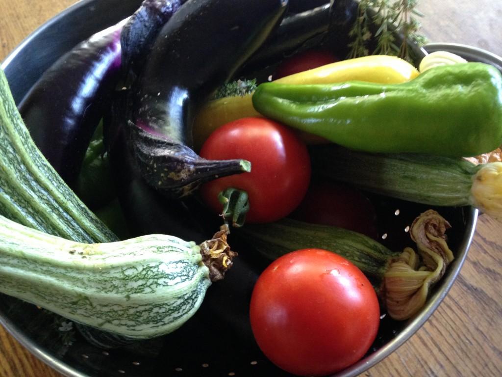 Vegetables for Garden Ratatouille